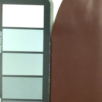 3.92 Yard Piece of Faux Leather Vinyl Fabric | Dark Chocolate Brown Light Grain | Upholstery / Bag Making | 54 Wide