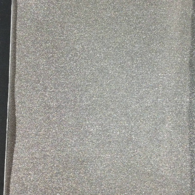 1.8 Yard Piece of Satin Finish Vinyl Fabric   Nickel Gray   Felt-Backed   Upholstery / Bag Making   54 Wide
