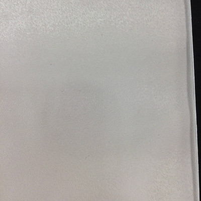 1.67 Yard Piece of Vinyl Fabric | White Feathered Texture | Felt-Backed | Upholstery / Bag Making | 54 Wide