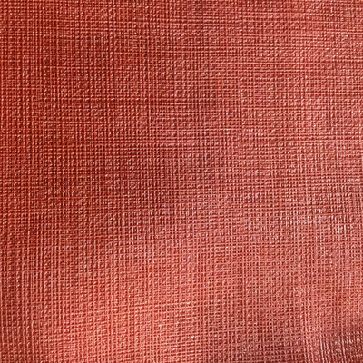 2.8 Yard Piece of Vinyl Fabric | Muted Red Woven Texture | Upholstery / Bag Making | 54 Wide