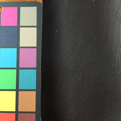 2 Yard Piece of Faux Leather Vinyl Fabric | Darkest Taupe | Upholstery / Bag Making | 54 Wide