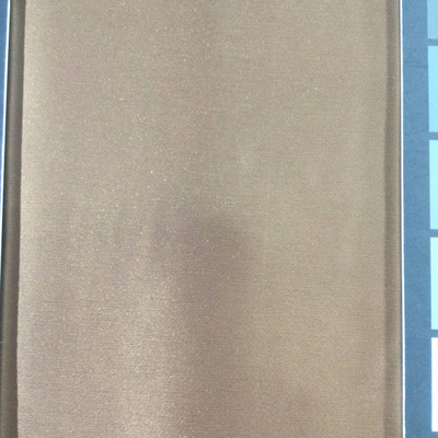 3.1 Yard Piece of Satin Finish Vinyl Fabric | Brown | Felt-Backed | Upholstery / Bag Making | 54 Wide
