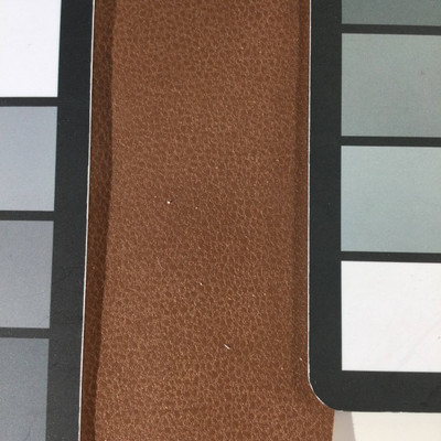 1.8 Yard Piece of Faux Suede Vinyl Fabric | Brown | Upholstery / Bag Making | 54 Wide