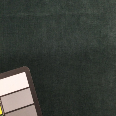 jade green velour stretch fabric