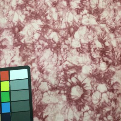 pink tie dye suede microfiber fabric
