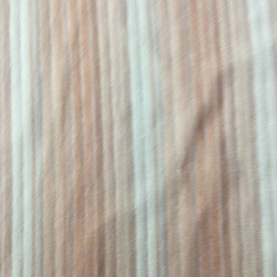 Pinks and White Stripped Knit Fabric | Lightweight Polyester | Apparel Dresses Drapery