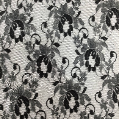 """Black Lace Fabric 