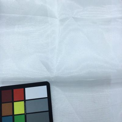 cream organza fabric