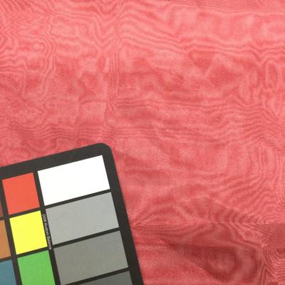 crimson red organza fabric