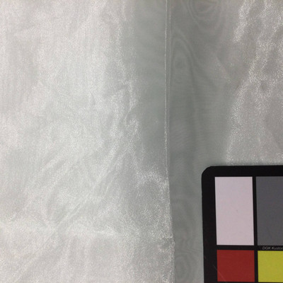mint green organza fabric