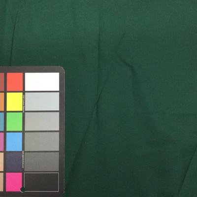 hunter green poly cotton fabric
