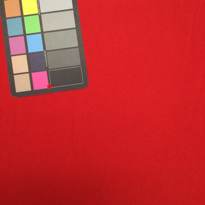 primary red knit stretch fabric