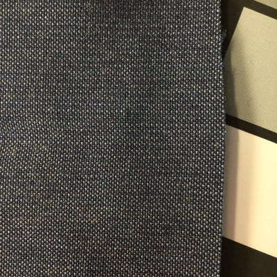 2.8 Yard Piece of  Indoor / Outdoor Fabric | Two Toned Blue | 54 Wide | Upholstery