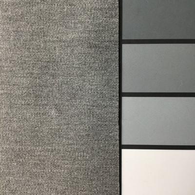 2.3 Yard Piece of  Indoor / Outdoor Fabric | Smoke Gray | 54 Wide | Upholstery
