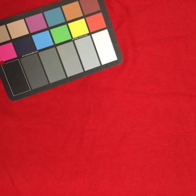crimson chiffon fabric