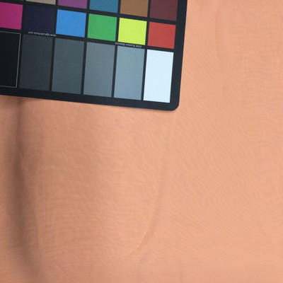 peach chiffon fabric