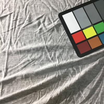 heather grey knit jersey fabric