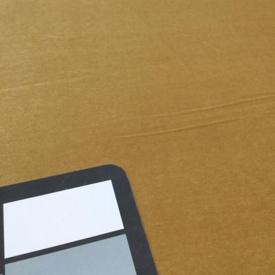 gold velour stretch fabric