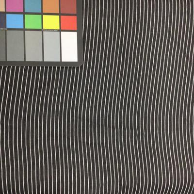 black white stripped fabric