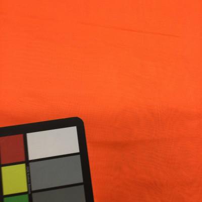 neon orange chiffon fabric