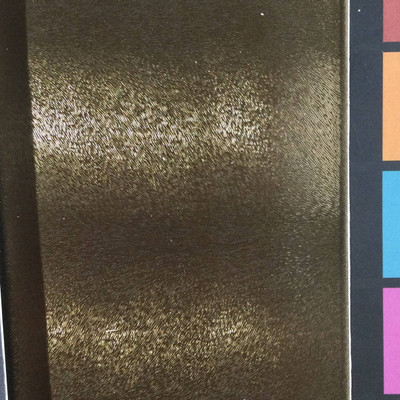 3.8 Yard Piece of Vinyl Fabric   Copper Brown Feathered Texture   Upholstery / Bag Making   54 Wide