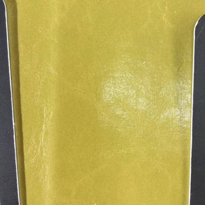 0.55 Yard Piece of Faux Leather Vinyl Fabric | Avocado Green Medium Grain | Felt-Backed | Upholstery / Bag Making | 54 Wide