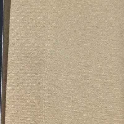 0.8 Yard Piece of Satin Finish Vinyl Fabric |  Dark Beige Lightly Textured | Upholstery / Bag Making | 54 Wide