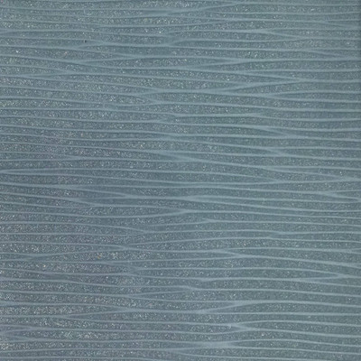 2.8 Yard Piece of Vinyl Fabric | Spa Blue Striated Texture | Felt-Backed | Upholstery / Bag Making | 54 Wide