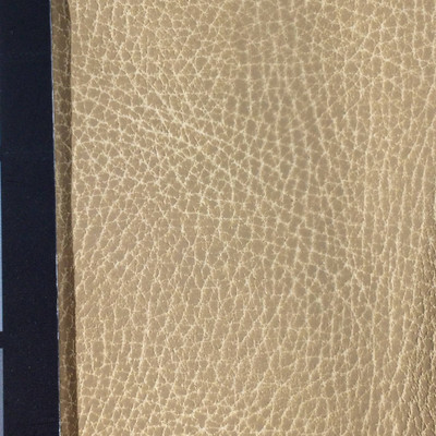 1.8 Yard Piece of Faux Leather Vinyl Fabric   Soft Matte Tan   Felt-Backed   Upholstery / Bag Making   54 Wide