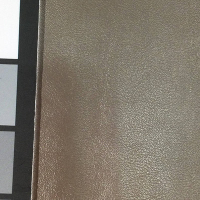 2.55 Yard Piece of Faux Leather Vinyl Fabric | Platinum Light Grain | Upholstery / Bag Making | 54 Wide