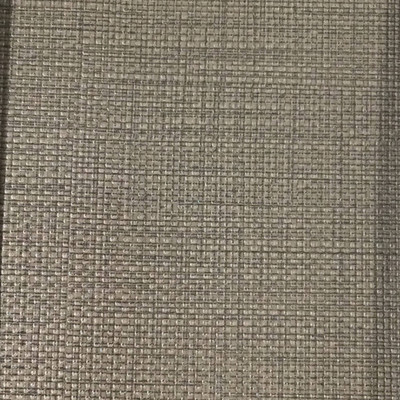 3.05 Yard Piece of Vinyl Fabric   Taupe Woven Texture   Felt-Backed   Upholstery / Bag Making   54 Wide