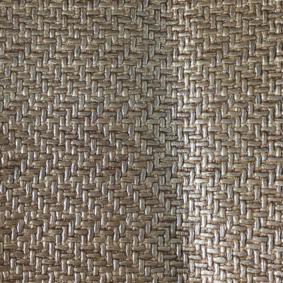 0.92 Yard Piece of Vinyl Fabric | Golden Brown Woven Texture | Felt-Backed | Upholstery / Bag Making | 54 Wide