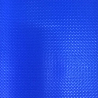3.55 Yard Piece of  Vinyl Fabric | Royal Blue Two Ply Vinyl | Upholstery / Bag Making | 54 Wide