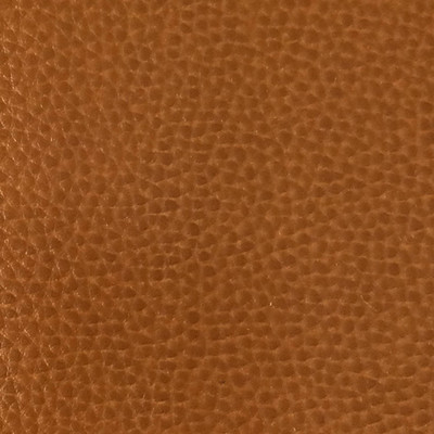 3.8 Yard Piece of Faux Leather Vinyl Fabric | Brown Medium Grain | Upholstery / Bag Making | 54 Wide