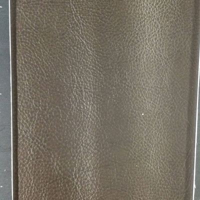 1.8 Yard Piece of Faux Leather Vinyl Fabric | Darkest Brown Lightly Textured | Upholstery / Bag Making | 54 Wide
