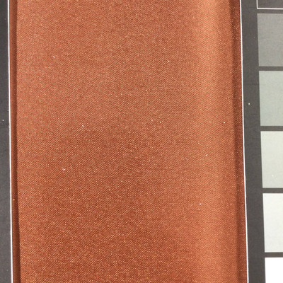 0.8 Yard Piece of Satin Finish Vinyl Fabric   Brick Woven Texture   Upholstery / Bag Making   54 Wide