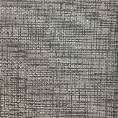 0.92 Yard Piece of Vinyl Fabric   Gray Woven Texture   Felt-Backed   Upholstery / Bag Making   54 Wide