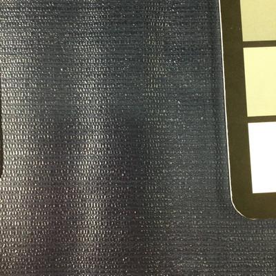 2.05 Yard Piece of Vinyl Fabric | Dark Blue Woven Texture | Felt-Backed | Upholstery / Bag Making | 54 Wide