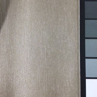 1.05 Yard Piece of Satin Finish Vinyl Fabric   Taupe Slub Texture   Felt-Backed   Upholstery / Bag Making   54 Wide