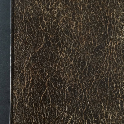 0.8 Yard Piece of Faux Suede Fabric | Two Toned Dark Brown | Felt-Backed | Upholstery / Bag Making | 54 Wide