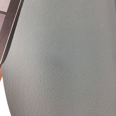 2.05 Yard Piece of Faux Leather Vinyl Fabric   Sage Green Light Grain   Upholstery / Bag Making   54 Wide