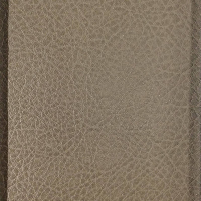 1.05 Yard Piece of Faux Leather Vinyl Fabric | Taupe Medium Grain | Felt-Backed | Upholstery / Bag Making | 54 Wide
