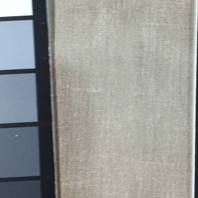 0.8 Yard Piece of Satin Finish Vinyl Fabric   Pearl Off-White Woven Texture   Felt-Backed   Upholstery / Bag Making   54 Wide