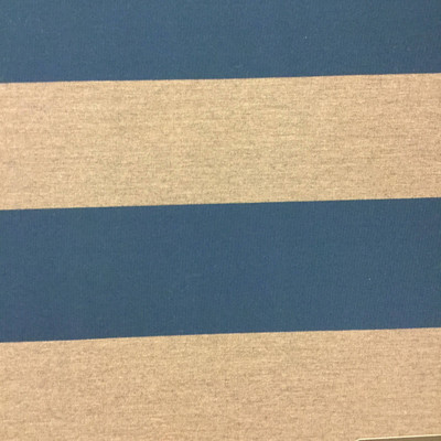 """6.8 Yard Piece of Vintage Striped Sunbrella 