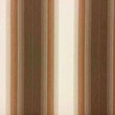 """2.55 Yard Piece of Vintage Striped Sunbrella 