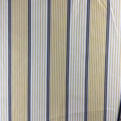"""Horizontal Stripes in Yellow, White, Brown 