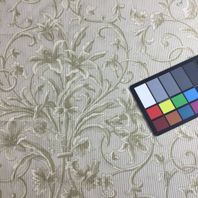 textured floral home decor fabric