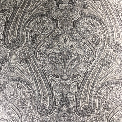 """Timeless Paisley in Ebony by P/Kaufmann 