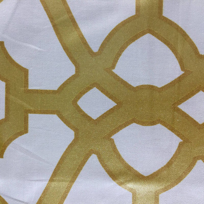 Burnished Tile in Gold by P/Kaufmann | Home Decor Fabric | Drapery / Light Upholstery | 54 Wide | By the Yard