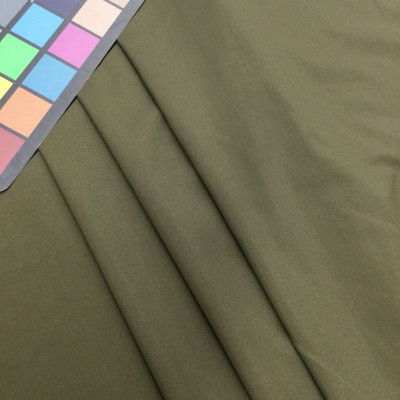 Army Green Woven Polyester Cotton Broadcloth Fabric   Apparel    Lining   Crafts   Home Decor   By The Yard   60 inch Wide